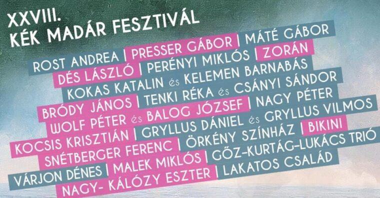 Kék Madár Fesztivál - Kalocsa